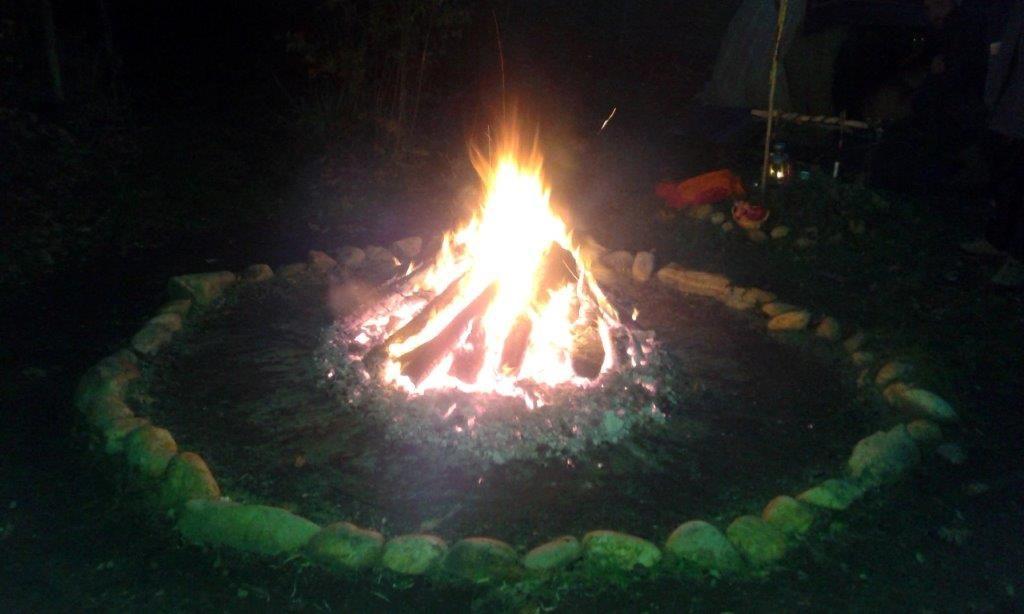 Schwitzhüttenfeuer