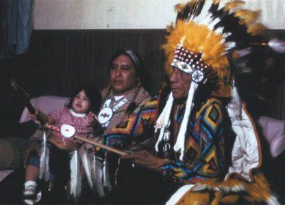 John Fire Lame Deer, ein Sioux spricht: