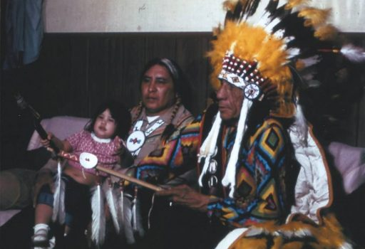 Lame Deer and Family